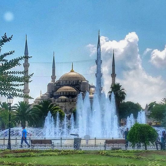 Istanbul Turkey At Sultanahmet City