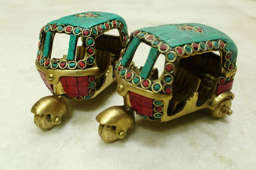 rickshaw Rickshaw #tuktuk Shield Army Military Royalty Gold Gear Arts Culture And Entertainment Gold Colored Ornate Colorful Cannon