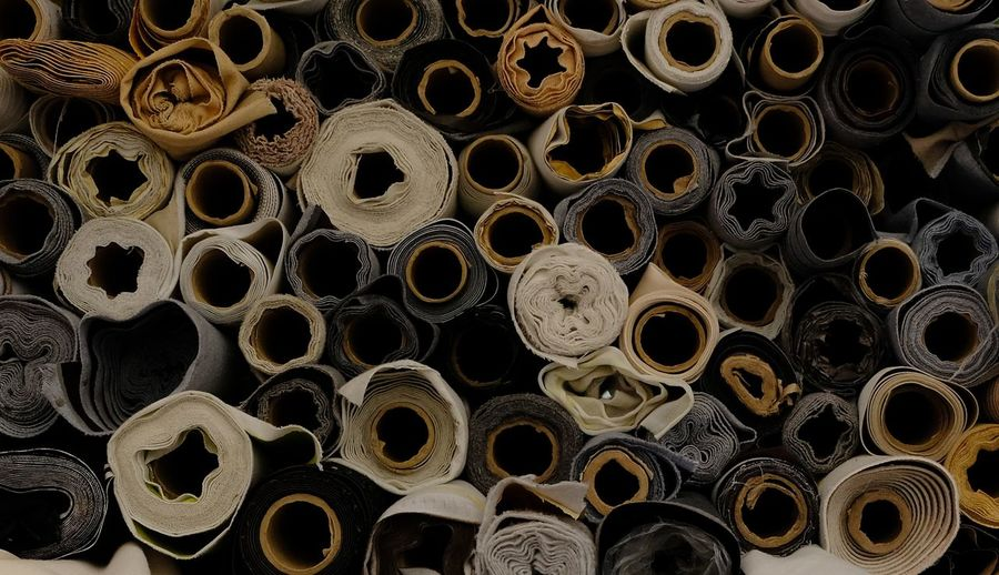 Roll Street Market Tailor Textile Industry Textiles Arrangement Background Backgrounds Cloth Dressmaker Fabric Handmade Large Group Of Objects Roll Rolled Up Spool Stuff Tailormade Textil Background Textile Textile Design Textile Fabrics