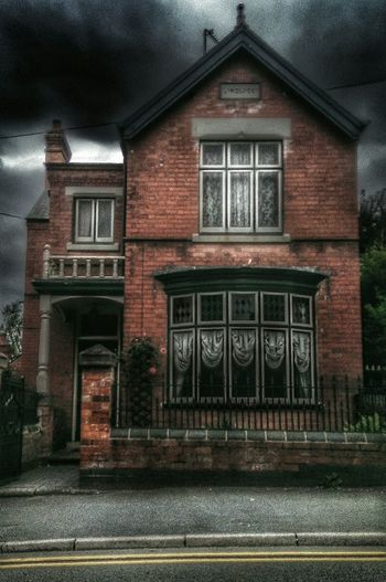 I See Faces Another One another great house Victorian Architecture Spooky Atmosphere Old Building  For My Friends That Connect Dark Edit