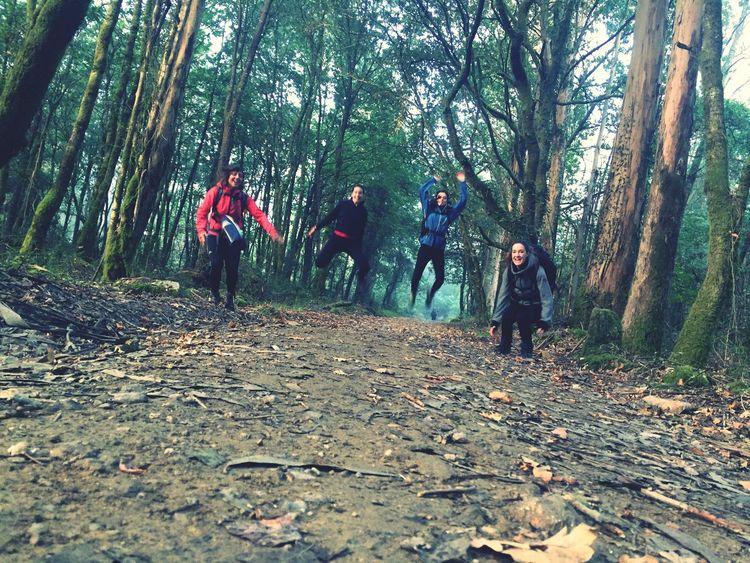 El Camino De Santiago Galicia Friends Traveling