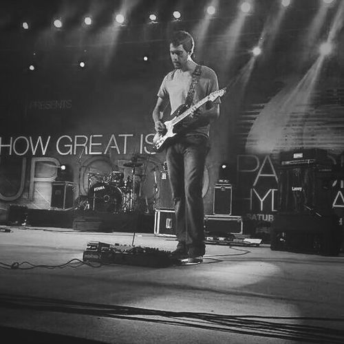 Enjoying Life Worship Team Nightphotography Mobile Photography Black&white by sony xperia zr....
