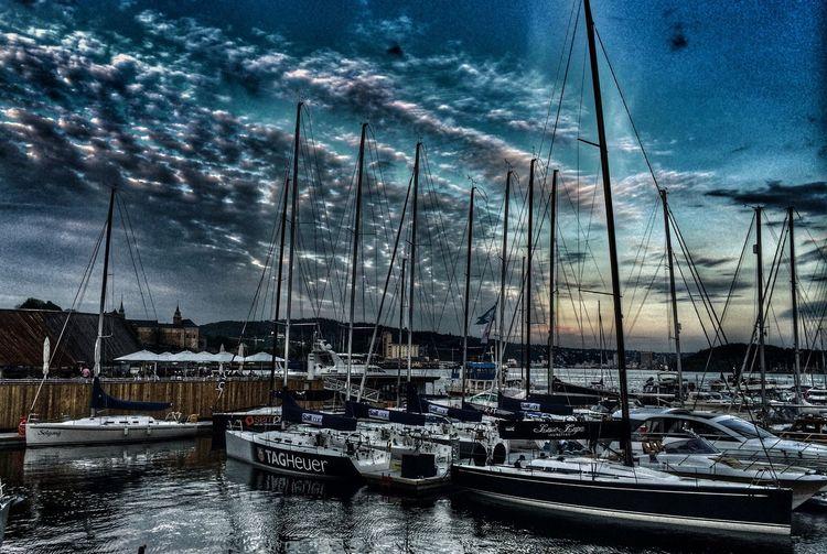 Oslo Norway Aker Brygge EyeEm Best Shots EyeEm Best Edits Clouds And Sky