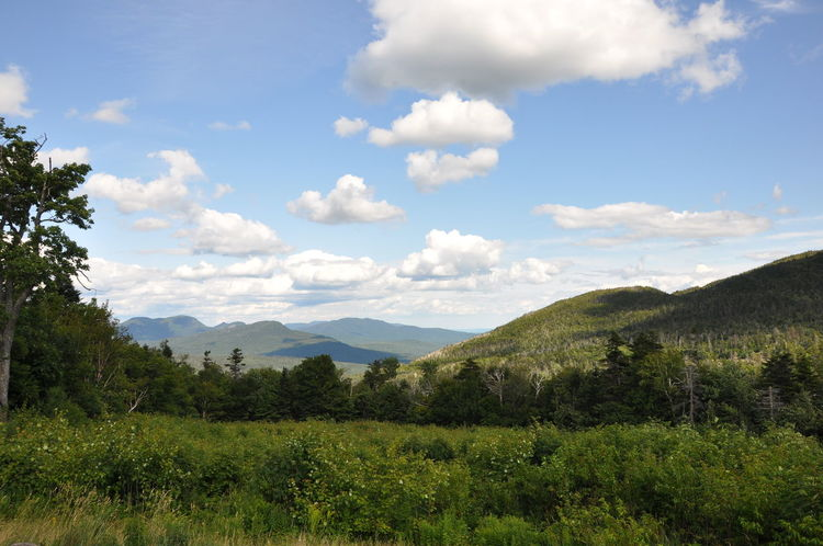 Beauty In Nature Blue Cloud - Sky Forest Landscape Mountain Nature New Hampshire, USA Outdoors Scenics Sky USAtrip
