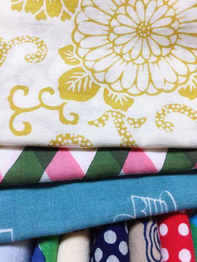 あたらしくおろすもの Multi Colored No People Textile Close-up Indoors  Day