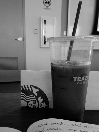 Day7 Black And White Photo Challange Caffine And Blood