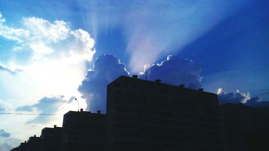 Sky / summer / kazan / tatarstan