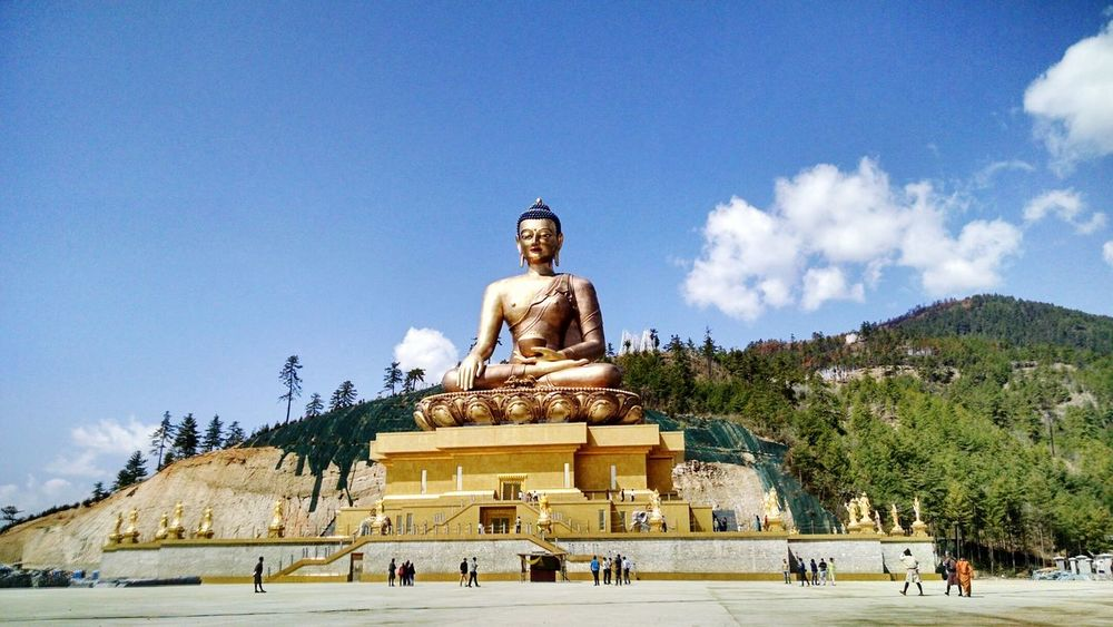 Bhutan Thimphu Mountain April Showcase Buddha Buddha Point The Great Outdoors - 2016 EyeEm Awards The Essence Of Summer 43 Golden Moments Neighborhood Map