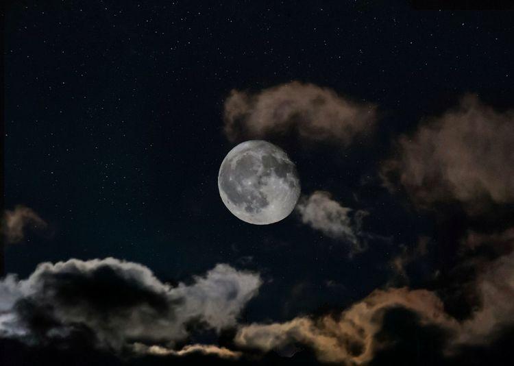 full moon stars