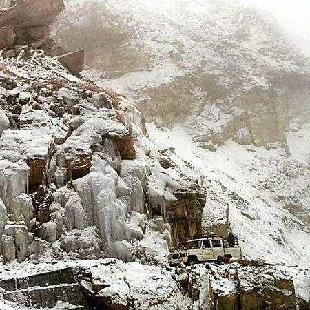 Himachal Ice Snow Kinnour IceRoads DangerousRoads Adventure