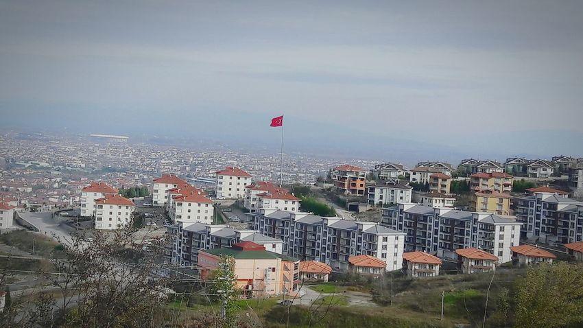 City Sky Outdoors No People Day Serdivan Tepesi