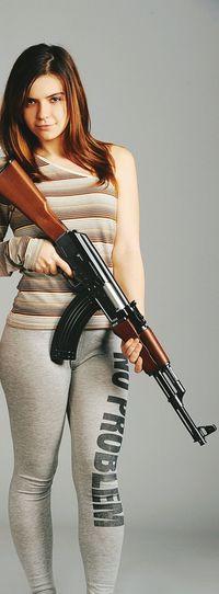 KALASHNYKOV Kalashnikov That's Me Womens Portraiture Portrait Of A Woman Hi! Myself Photooftheday Vscocam Ak