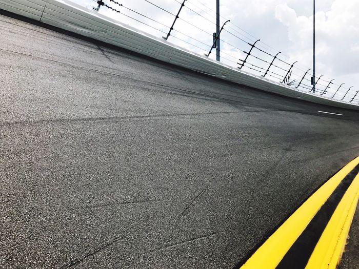 View of racetrack