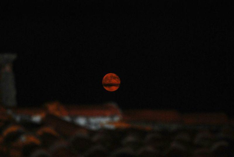 Red Moon Moon Full Moon