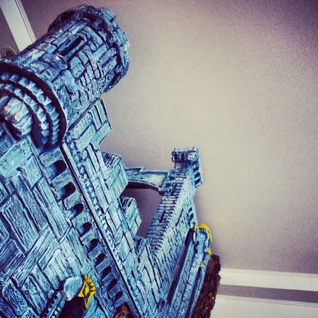 Dreamcastle Check This Out Taking Photos EyeEm Gallery Home Sweet Home Homebuilt Make It Yourself Blue Castle Castles Castillo Castle Handmade Playtime Craft