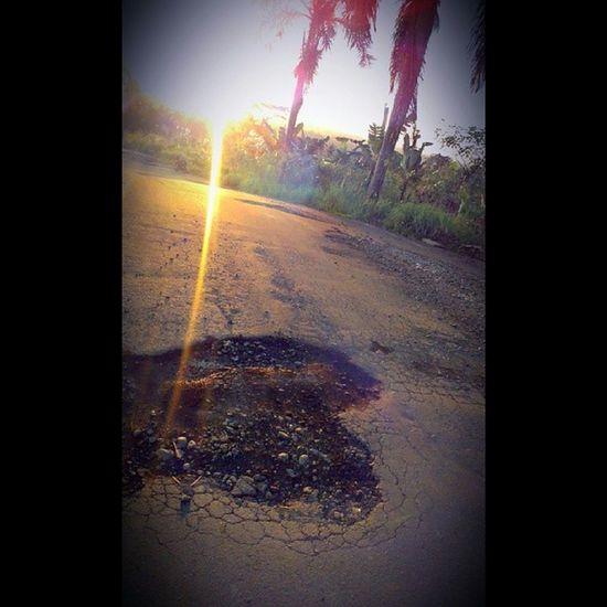 Hangat Sore Flare Hambalang Bogor Sunrise