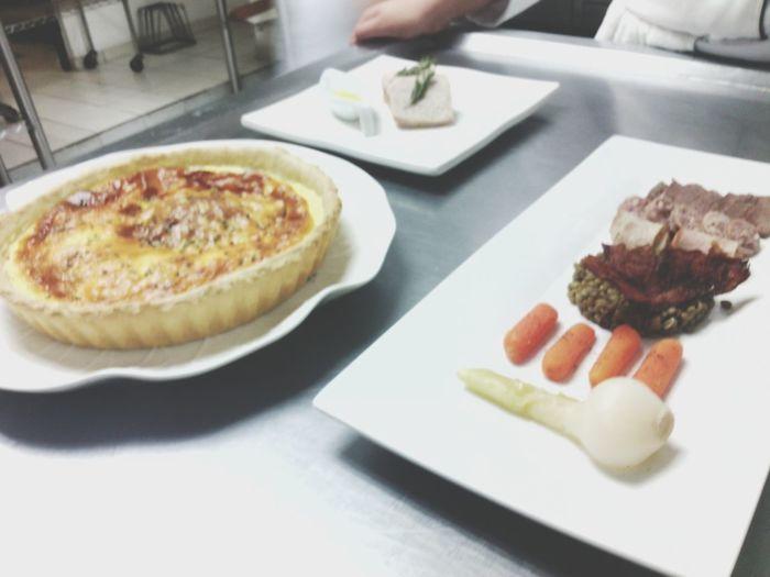 Food love Gastronomy Loveit♡ Uag QuicheLorraine Lentejas Foodporn