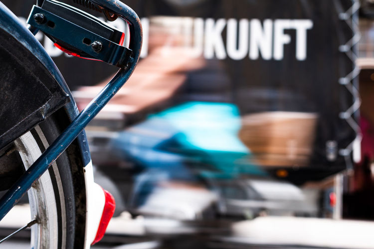 One Person Focus On Foreground Bycicle Future Zukunft Cologne Köln Motionblur Motion Motion Photography EyeEmNewHere EyeEmNewHere