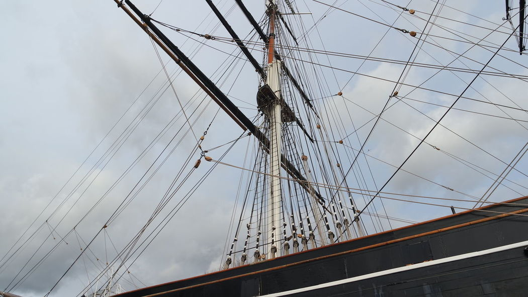 Low Angle View Cuttysark London Greenwich Naval College 21st Birthday! EyeEm Best Shots