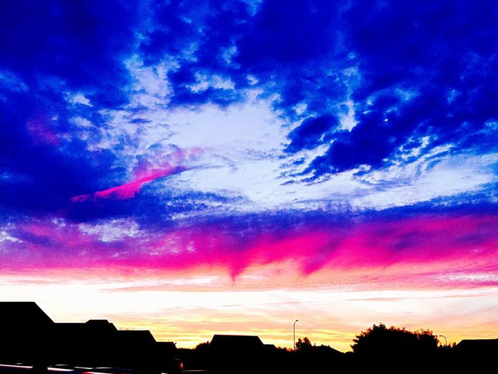 Pink Blue Sky Open Skys Cloudporn Taking Photos Nature On Your Doorstep The Great Outdoors - 2015 EyeEm Awards The Moment - 2015 EyeEm Awards The Street Photographer - 2015 EyeEm Awards The Great Outdoors EyeEm Awards 2015 sunset