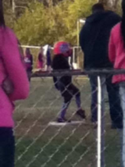 My Neice At 3rd Base