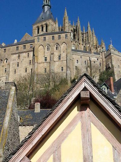 UNESCO World Heritage Site Taking Photos Lemontsaintmichel Architecture Site_historique Architectural Detail