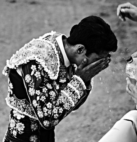 Talavante. Mérida. Spain. Blackandwhite Black And White Portrait Bw_collection