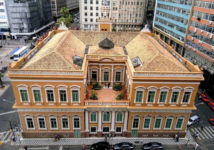 Prefeitura de Porto Alegre, Fundos Architecture Building Exterior Built Structure Window Day Travel Destinations Outdoors No People Politics And Government City