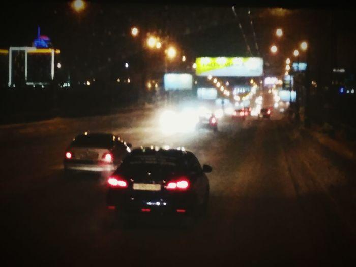 Мегаполис ночью мегаполис Нск Нскпрекрасен Ночь Машины тойота Дорога