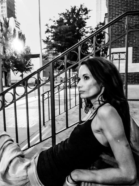 Her Black And White Black And White Photography Beautiful Girl Woman She Relaxing Hello World Taking Photos Architecture Urbanphotography Birmingham, AL Dreams And Dreams Beautiful Hidden Places Earth Birmingham Fine Art Photography Magic City Hanging Out Check This Out ... Melody In The City