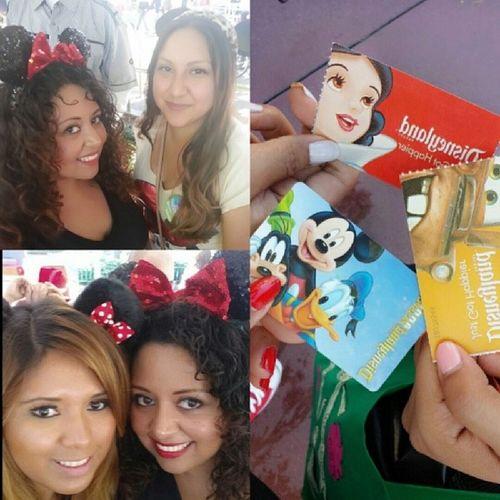 Love these two! Birthdaygirl MiAmiga WeLoveDisneyland @erikajanine @miss_lelulu