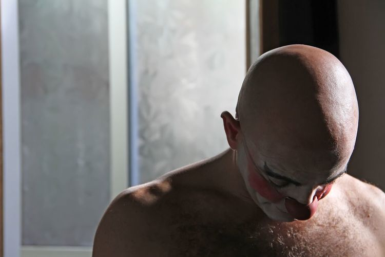 Fabio Clown Bald Baldhead EyeEm Best Shots - People + Portrait Portrait Photography The Portraitist - 2016 EyeEm Awards