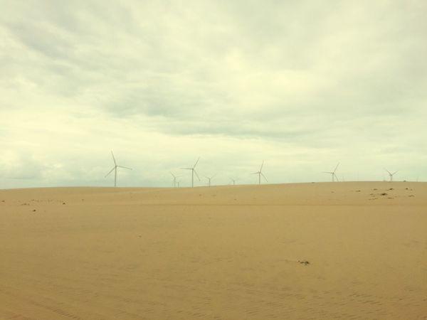 Areia Céu Praia Energía