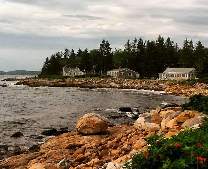 New Harbor, Maine USA Coast Line  Coastline Landscape Large Rocks Taking Photos Enjoying Life Mainephotographer Beautiful Alantic Ocean Maine Seacoast USA Photos Mainephotography Beauty Of Nature Low Tide