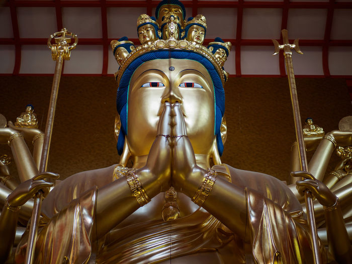 Wakayama Buddha Art Art And Craft Buddha Carving - Craft Product Creativity Famous Place Focus On Foreground Gilded Gold Gold Colored Golden Color History Human Representation Kimiidera Place Of Worship Religion Sculpture Spirituality Statue Tourism Travel Destinations