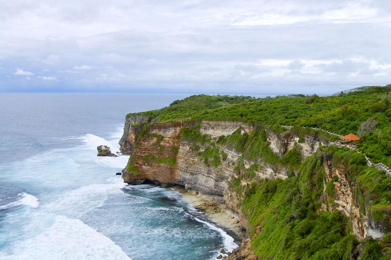 Uluwatu Bay Bali INDONESIA Cliff Nature Uluwatu