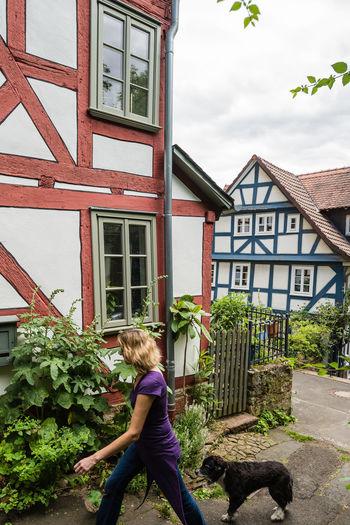 Architecture Façade Germany GERMANY🇩🇪DEUTSCHERLAND@ Half Timbered House Marburg An Der Lahn Pastel Power Wood Architecture