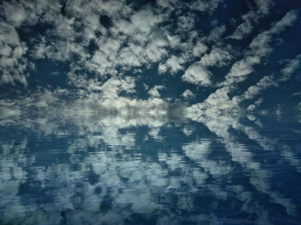 Sky over water Reflection