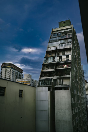 Building Exterior Architecture Built Structure City Building Sky Low Angle View Cloud - Sky Outdoors Tall - High Office Building Exterior Residential District Apartment Height Cityscape Skyscraper Sao Paulo - Brazil Brazil Concrete Concrete Jungle Tower High No People