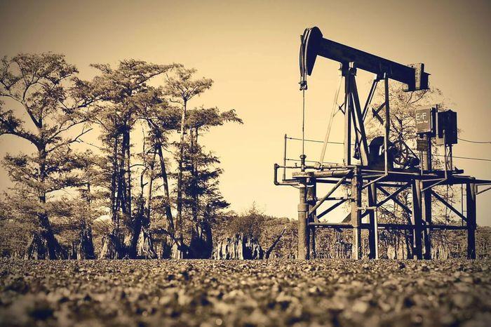 Caddo Lake, Louisiana. Pump jack Rural Scene Oil Pump Pumpjack Oilfield Caddo Lake Vintage Rustic Outdoors