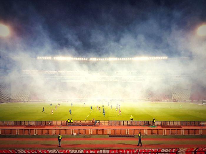 🔴⚪Red Star, Belgrade🔴⚪ Champions League UEFA Crvena Zvezda Red Star Football Belgrade Serbia Sports Track Sport