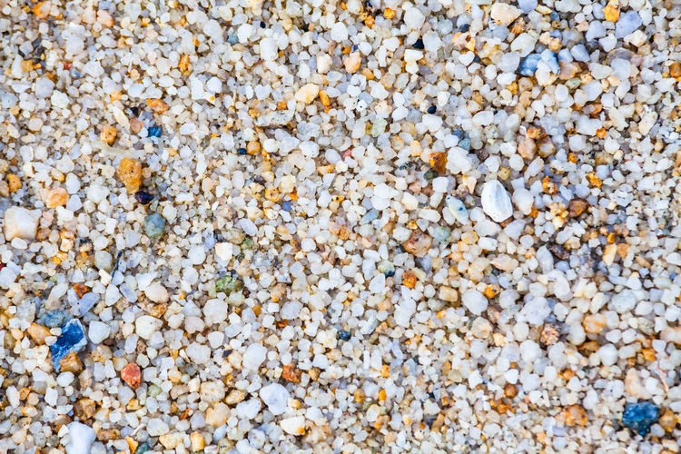 Close up view of hard sand texture for blur background Full Frame Backgrounds No People Textured  Close-up Nature Day Outdoors Abundance Large Group Of Objects Stone Pebble Solid Stone - Object Rock Land Beach High Angle View Still Life Freshness