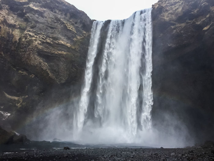 Iceland Beauty In Nature Day Environment Land Nature Non-urban Scene Outdoors Scenics - Nature Skogafoss Skogafoss Falls, Iceland Skogafoss Waterfall Waterfall Waterfalls