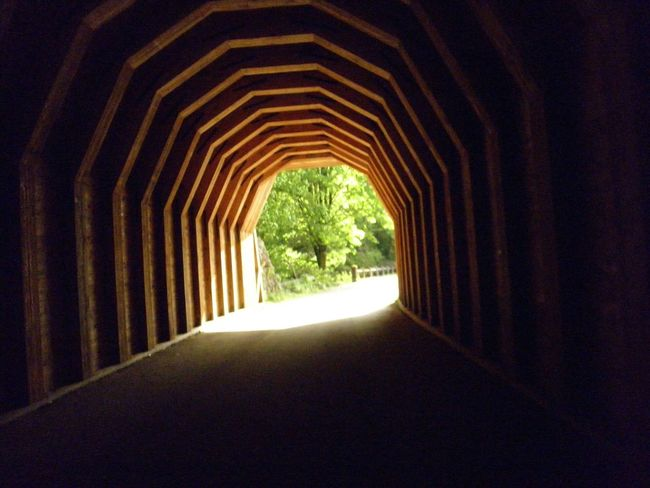 Light At The End Of The Tunnel Tunnel TunnelHill Covered Bridge