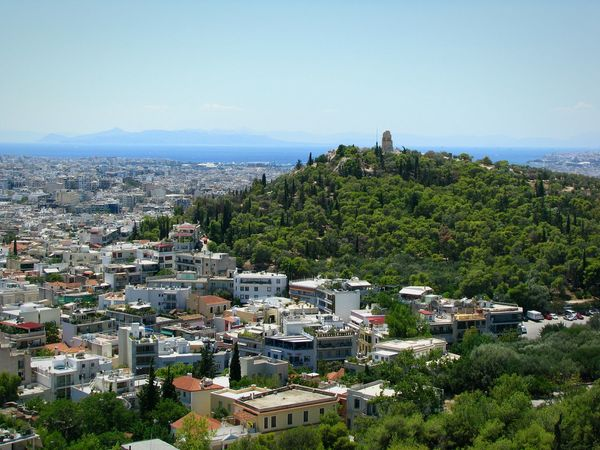 Filopapou Hill Athens, Greece Athens City Cityscape Been There. Urban Urban Landscape Densely Built Overpopulated Buildings Architecture Travel Destinations Trees City Park Nature Against The City Trees And City Monument Park Done That. The Week On EyeEm An Eye For Travel Stories From The City