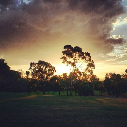 Summer clouds, Summer sunsets