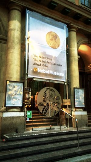 ??well... Finally made it to Stockholm...thanks Alfred Nobel??? Being Intellectual Tadaa Tadaa Community Nobel Prize