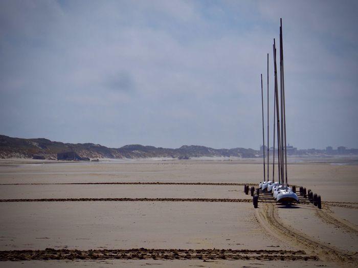 Yachting Sport Beach Land Outdoors Sand Scenics - Nature Sky Water Yachting