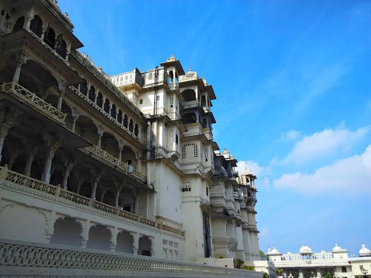 City Palace Udaipur Architecture Citypalace Historic India Sky Travel Photography Travelindia Udaipur Udaipur. India First Eyeem Photo
