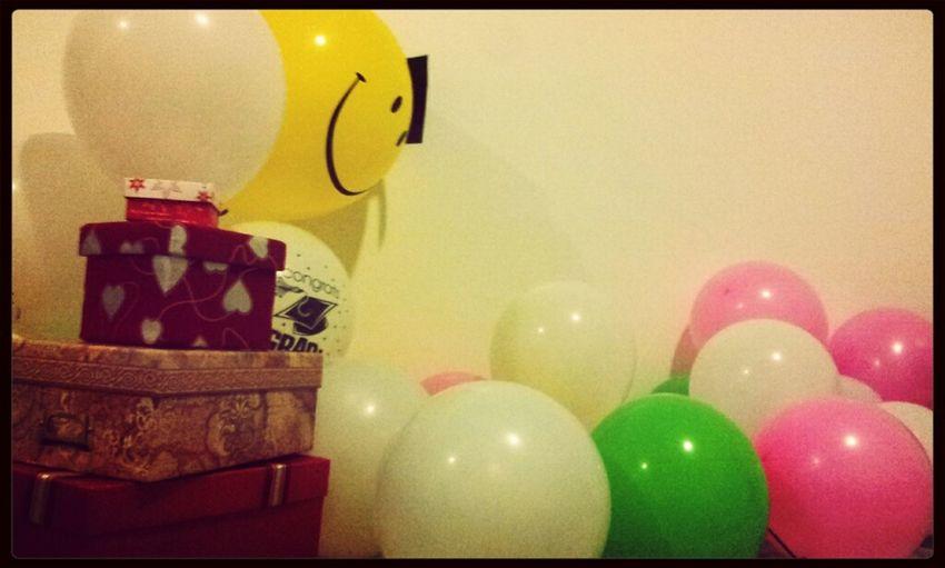 Celebrating At Home :D